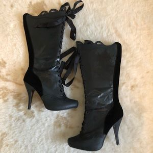 Shoes - Stiletto Knee High Boots